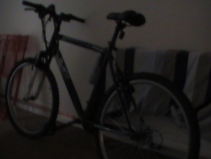 Born in darkness, living in darkness, my bike is a moody bitch.